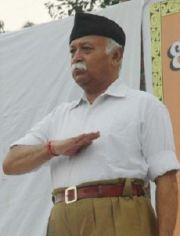 RSS의 모한 바그와트 총재. ⓒ한국오픈도어선교회 제공