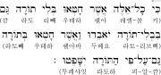 로마서 2장 12절 히브리어