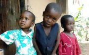 케냐 어린이들.