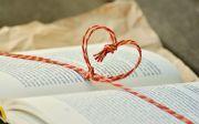 사랑, 하트, 끈, 책