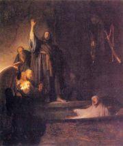 네덜란드 렘브란트 나사로의 부활