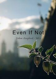 악보집 'Even If Not(그리 아니하실 지라도)'