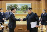 김정은 정의용 특사 북한