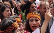 이라크, 카라코시, 기독교인들, 종려주일예배,