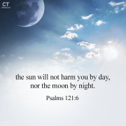 [Bread of Life] Psalms 121:6