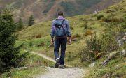 Wanderer Backpack Hike Away Path Mountain Hiking 내리막 오르막 등산 길 하이킹 순례 모험 여정