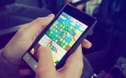 전자 제품 게임 손 휴대 전화 스크린 스마트폰 터치 스크린
