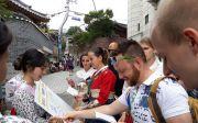 한남대 '마이크로 디그리' 학생들 관광에티켓 캠페인