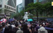 홍콩 시위, 홍콩, 민주주의,