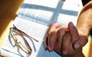 성경, 성경책, 기도, 십자가