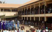카메룬교회 예배 현장