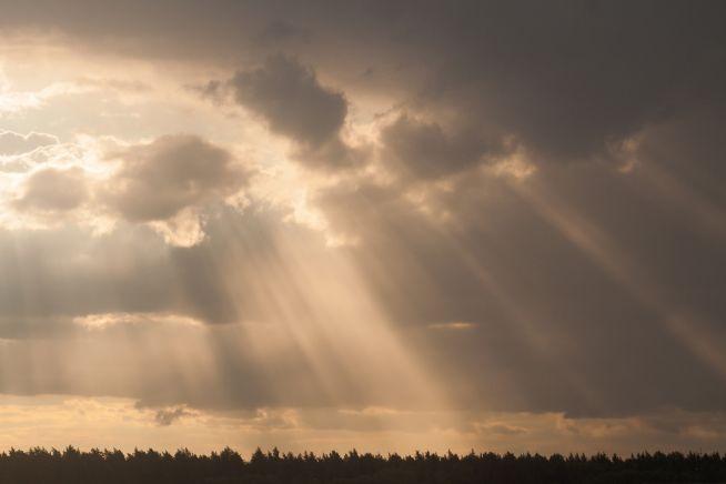 하늘 구름 천국