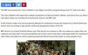 영국   bbc 보도, 영국 크리스천투데이