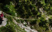 등산 내리막 순례 길 여정 과정 은혜 믿음 언약