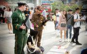 북한 인권 거리 캠페인