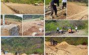 산마루예수공동체 포크레인 사용 농지작업