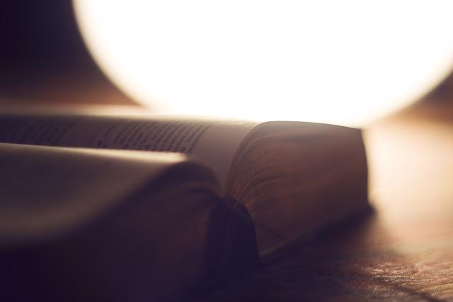 성경, 성경책, 빛