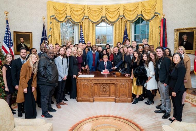 백악관 신앙 브리핑