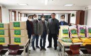 신애제일교회 김치와 쌀 후원 전달식