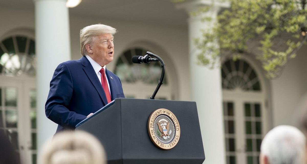 트럼프 대통령, 백악관