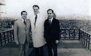 한국 CCC 설립자 김준곤 목사와 빌리 그레이엄 목사, 빌 브라이트 박사