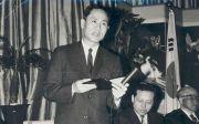 한국 CCC 설립자 김준곤 목사 제1회 국가조찬기도회