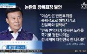 김원웅 광복회장의 8·15 경축식 발언 논란
