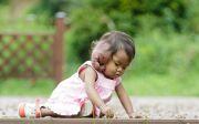 희귀병을 앓고 있는 캄보디아 소녀 쏙으레쌰