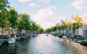 네덜란드 수도 암스테르담의 모습.