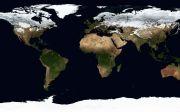 세계지도 세계 지도 지리 위성 이미지 위성지도 대륙 기후대 겨울 지구