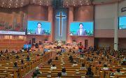 여의도순복음교회 2021년 1월 20일 10% 대면 예배