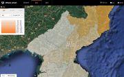북한 지도