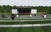 노스캐롤라니아 개스톤 카운티 시티교회가 건설을 추진 중인 야외예배당 조감도
