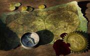 어드벤처 보물 지도 세계지도 해적 보물섬 나침반 탐색 보물찾기