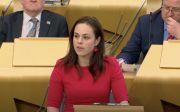스코틀랜드 케이트 포브스 재무장관