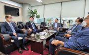 더불어민주당 김두관 의원 한교연 방문