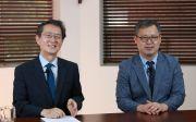 (사)대학생성경읽기선교회(UBF) 김모세 대표와 김갈렙 세계선교부장