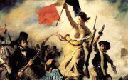 들라크루아의 '민중을 이끄는 자유의 여신'