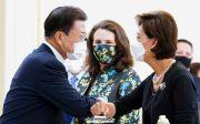 문재인 영 김 미국 하원의원 탈북민 구조 요청