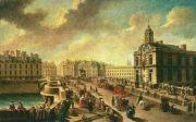 1777년 파리 퐁뇌프 다리를 그린 나콜라 장바티스트 라그네의 작품 <파리, 퐁뇌프와 사마리텐>