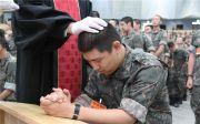 한국군종목사단 한국기독교군선교연합회, 진중세례 병사