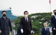 김경재 국민혁명당 대선후보 국립서울현충원, 양화진외국인선교사묘원 참배